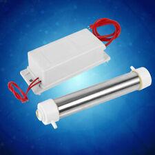 220V 1/2/3g White Quartz Tube Ozone Generator For Water Air Purifier Sterilizer