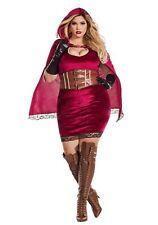 Sexy Red Riding Hood Plus Costume Women's