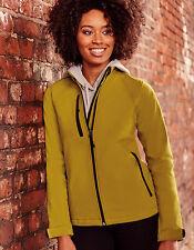 Russel Damen Softshelljacke XS - XXL 3XL 4XL Jacke große Größen Atmungsaktiv Neu
