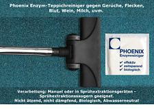 Teppichreiniger Enzymreiniger Bio / Geruchsbeseitiger /Fleckenmittel/Polster uvm
