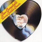 Glen Campbell - 20 Golden Greats (1990) creased booklet cd is excellent