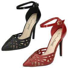 Ladies Anne Michelle Ankle Strap Court Shoes L2281