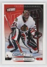 2005-06 Upper Deck Victory #41 Jocelyn Thibault Chicago Blackhawks Hockey Card