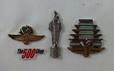 Indianapolis Motor Speedway Collector Logo Borg Warner Trophy Pagoda Lapel Pin