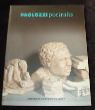 Eduardo Paolozzi - Portraits  PAPERBACK BOOK 1988
