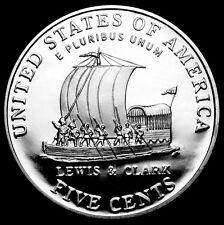 """2004 S Jefferson Nickel Mint Proof ~ Lewis & Clark """"Keel Boat"""" from Proof Set"""