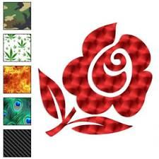Rose Flower Art Decal Sticker Choose Pattern + Size #586