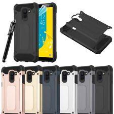 Samsung Galaxy J6/J6 Plus teléfono caso, resistente a prueba de golpes cubierta de armadura