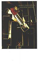 PUBLICITE ADVERTISING 2011  YVES SAINT LAURENT cosmétiques rouges GOLDEN LUSTRE