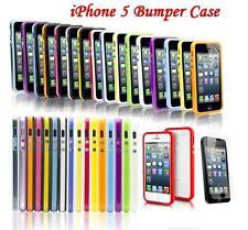 Nuevo Apple Iphone 5 5g elegante Doble Sombra parachoques caso atractivo cubierta de protección