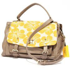 9726R borsa donna MARKS&ANGELS LUCY MEDIUM BICOLORE giallo tracolla bag woman