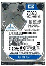 HP WD WD7500BPVX 778190-001 634250-001 750GB HDD Hard Disk Drive