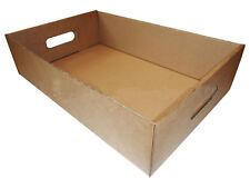 Cardboard Die Cut Produce Trays Fruits Drinks Boxes Storage Fruits Veg Beer