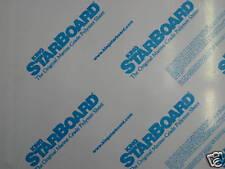 "1/2"" X 24"" X 54""  WHITE  KING STARBOARD POLYMER HDPE MARINE SEABOARD FREE SHIPPI"