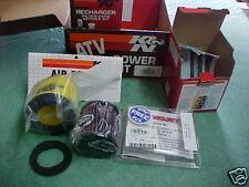 K&N POWER KIT 92-97 Suzuki LTF300 LTF 300 King Quad 8304 Jet Kit Filter PreCharg