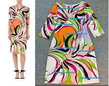 MW009077 - DESIGNER MULTICOLOUR JERSEY SILK DRESS (#668)