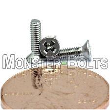 M2 Stainless Steel Phillips Flat Head Machine Screws, A2 Cross Recessed DIN 965
