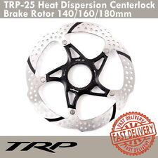 TRP TRP-25 Heat Dispersion Centerlock MTB Bike Disc Brake Rotor 140/160/180mm