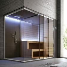 Ethos Sauna 200 cm und Dusche 95 cm Multifunktionkabine Wellness
