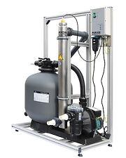 PURION 80 für Pools bis 90m³ Algenfrei ohne Chemie Komplettsystem UV-C