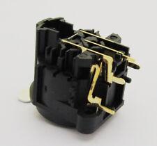 5x Black XLR Female Jack Chassis Gold 3Pin PCB Socket