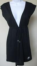 NWT genuine ECKO RED black sleeveless swim cover up dress, size S