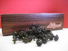 LILIPUT # 528/20 H0 Achsen Metall- Radsatz 9 mm =DC/Gleichstrom 20 Stück