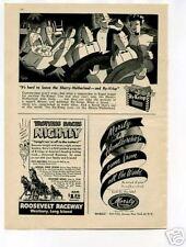 Ry-Krisp Snack Ad 1950's Original Vintage Ad