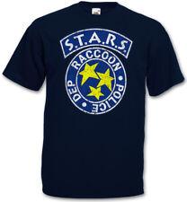 VINTAGE S.T.A.R.S. LOGO T-SHIRT Raccoon City Police Dep Resident T-Shirt Evil