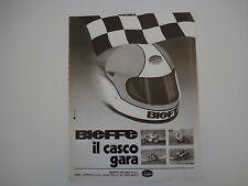 advertising Pubblicità 1979 CASCO BIEFFE
