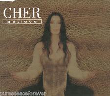 CHER - Believe (UK 3 Trk CD Single Part 1)