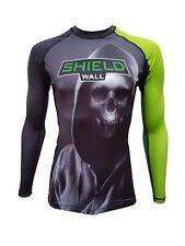 ShieldWall Reaper Rash Guard Rashvest Unisex MMA BJJ -  Long & Short Sleeve