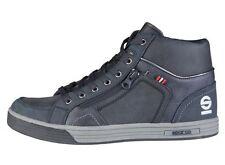 [NEU] Sparco Leon deep blau Leder Herren Schuhe Hightop Sneaker Gr 44 46