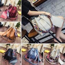 Korean Fashion Bucket Bag Composite Casual Color Strap Handbag Shoulder Bag GA