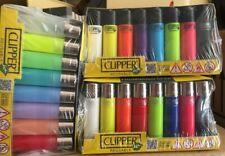 12 encendedores clipper soft touch 8 colores surtidos a elegir 12 unidades