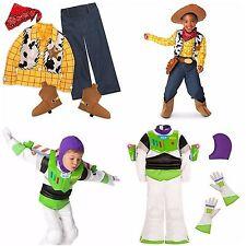 Disney Store Toy Story Buzz Lightyear Woody Boy Dress Up Costume Pixar Halloween