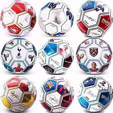 2017 Photo Signature Taille 5 Football Équipe Sportive Club Match Ball RRP £ 19.49