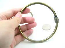 10pcs large Jailors Key ring purse frame bag holders clasp Antique key holder