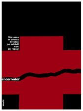 El Corredor Vintage Movie POSTER.Red Graphic Design. Wall Art Decoration.3585