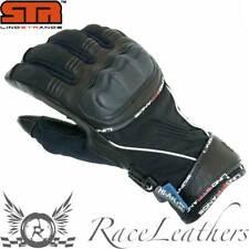 Lindstrands Órbita Negro Impermeable Ligero Moto Guantes