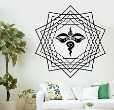 Wall Decal Buddha Eye Eyes Buddhism Yoga Om Vinyl Sticker (z2868)