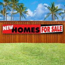 NEW HOMES FOR SALE Advertising Vinyl Banner Flag Sign LARGE HUGE XXL SIZES