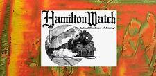 HAMILTON Wrist & Pocket Watch MAINSPRINGS Steel or Alloy (Multi-Listings)