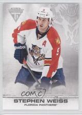 2011-12 Panini Titanium #39 Stephen Weiss Florida Panthers Hockey Card