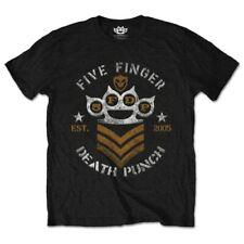 Five Finger Death Punch 'Chevron' T-Shirt- NEW & OFFICIAL