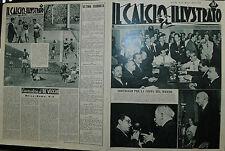 IL CALCIO ILLUSTRATO N°22/ 01.GIU.1950- SORTEGGIO PER LA COPPA DEL MONDO !