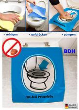 WC Abflussreiniger Power-Folie Rohrreiniger Bad WC Frei Toilette Rohrfrei NEU