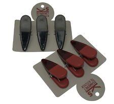 Sambonet Pinzas par ropa imanes 3 piezas Colores rojo, gris