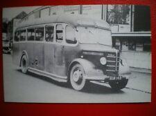 POSTCARD BUS/ TRAM BEDFORD OB COACH - JW JONES & SONS