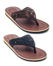 LESTARIE Damen Sandale Zehentrenner Sandalette Flip Flop Gr.36-43 Sandalen